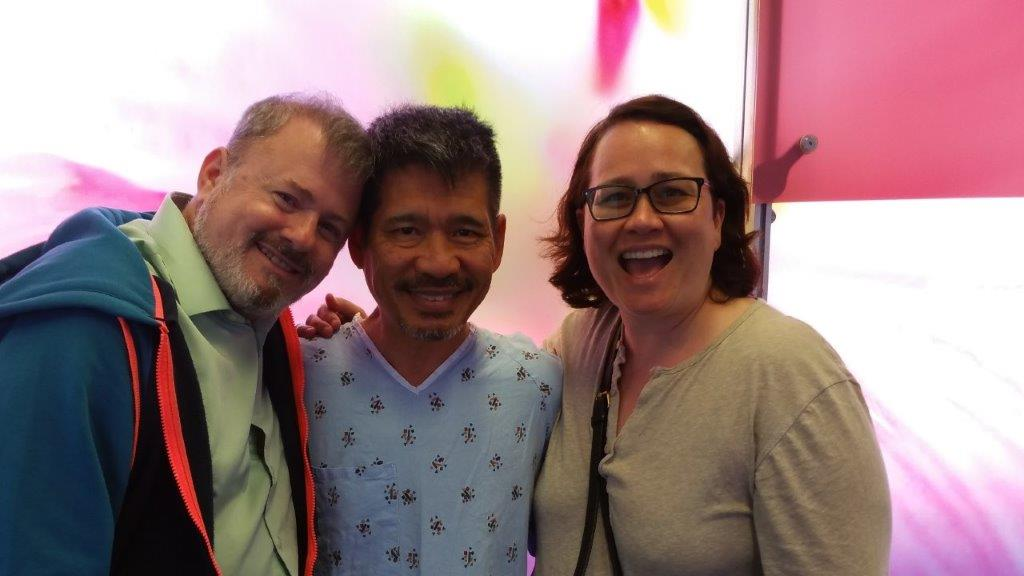 Gay marriage activist Marcial Cable fighting brain cancer. Please contribute to his gofundme account!