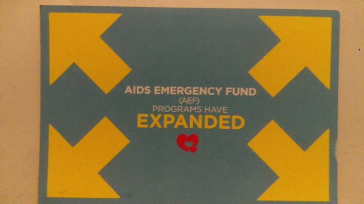 AIDS Emergency Fund Flyer Front